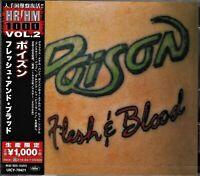 POISON FLESH & BLOOD JAPAN 2020 LMT EDT CD+2  BRAND NEW/SEALED/GIFT QUALITY!