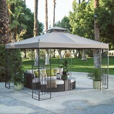 Outdoor Gazebo Canopy Patio Shelter BBQ Garden Party Wedding Yard 10 x 12 Ft