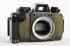 Nikon Nikonos-V Green 35mm Film Underwater Waterproof Camera Body NEAR MINT V13