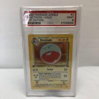 Electrode 1st Edition Holo Jungle Set 1999 Pokemon PSA 9