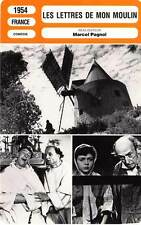 FICHE CINEMA : LES LETTRES DE MON MOULIN - Pagnol 1954 Letters from My Windmill