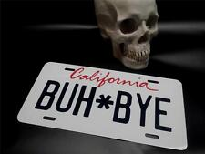 DEATH SUPERNATURAL TV SHOW PROP BUH BYE CADILLAC HOT RAT ROD LICENSE PLATE RICER