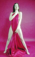 1990s Lou Fox Color Negative, sexy brunette pin-up girl, risque model, t16074
