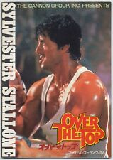 Over the Top JAPAN PROGRAM with TICKET STUB Menahem Golan, Sylvester Stallone