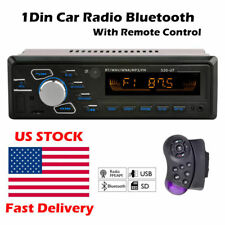 2108 new FM Radio  7 colors LED display  1 din  12V Bluetooth  Car MP3 Player