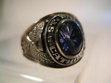 Vintage Herff Jones Class Ring (HM) 10K White Gold. (7)
