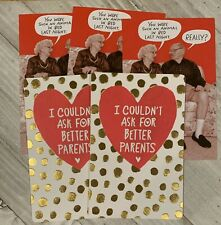 5 Valentine's Day Card Lot With Envelopes American Greetings - - 3