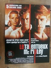 Viewing Panel Shows Employee Talented Mr Ripley Matt Damon Jude Law Gwyneth