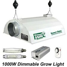 Virtual Sun 1000W Dimmable HPS MH Hood Digital Grow Light Kit - 1000 Watt