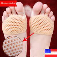 Silicone Honeycomb Forefoot Painful Foot Pad Reusable Holiday Relief 2020 P T6A0