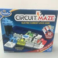 Think Fun Circuit Maze Electric Current Logic Game Complete One Player Education