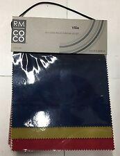 RM COCO Villa Multi Purpose Velvet Fabric Sample Book 16FOOC