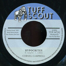 """Cornell Campbell - Hypocrites NEW!!! Tuff Scout 147 7"""""""