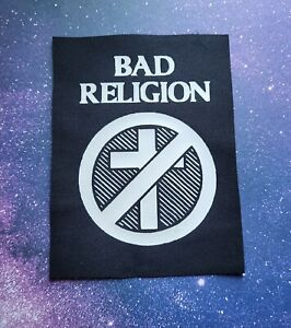 Bad Religion Cloth Patch Sew On Band Patches Punk Music