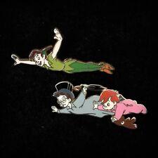 Peter Pan John Michael Teddy Flying Tinker Bell Wendy Starter Booster Disney Pin
