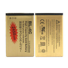 New 2450mAh Replacement Li-ion Battery For Nokia BL-4C 5100 6100 6300 6600 7270