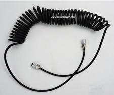 "1/8"" - 1/8"" Black Polyurethane Coiled Air Hose NO-NAME Brand by SprayGunner"