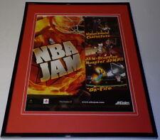 NBA Jam 2003 PS2 XBox Framed 11x14 ORIGINAL Advertisement