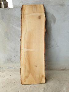 Eiche Wildeiche unbesäumt rustikal Eichenbrett Bohlen Regal Board 111cm 32-35cm