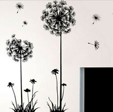 Removable Fly Dandelion Wall Art Stickers Living Room Mural Bedroom Home Decor