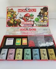 Monopoly NINTENDO COLLECTOR'S EDITION Board Game Mario Donkey Kong 99% Complete