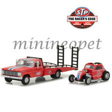 GREENLIGHT 33100 C STP 1968 FORD F-350 RAMP TRUCK with TOPO FUEL ALTERED 1/64