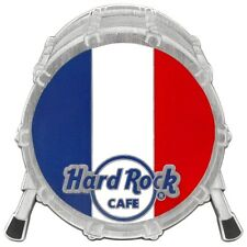 "Hard Rock Cafe ONLINE 2017 2.75"" MAGNET - BASS DRUM with FRANCE FLAG - LE 200!"