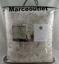 Hotel Collection Speckle Printed Full / Queen Comforter Gray - Pink