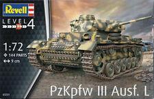 Revell 1/72 Pz.Kpfw III Ausf.L Plastic Model Kit 03251