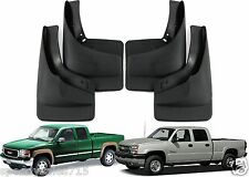 Front & Rear Mud Flaps Splash Guards For 1999-2006 Chevy Silverado New Free Ship
