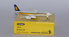 Schabak Boeing 707-338 Singapore Airlines 2nd version in 1:600 scale