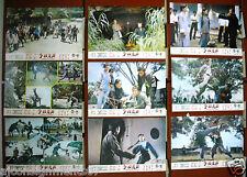 Set of 11 Tiger's Claw (Yee Sang Hon) Kung Fu Hong Kong Lobby Card 70s