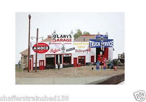JL Innovative Design # 481 O'Lary's Garage - Kit HO Scale MIB