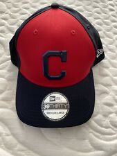 Cleveland Indians New Era Red 2018 On-Field Prolight Batting Practice 39THIRTY