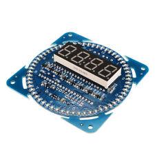 DS1302 Digitale Rotation LED Uhr DIY-Elektronik Löten Microcontroller Bausatz DE