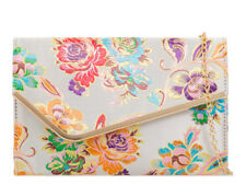 Ladies Floral Satin Clutch Bag Ethnic Flower Evening Party Purse Handbag KH2148