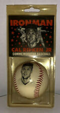 CAL RIPKEN JR. IRONMAN SIGNED FACSIMILE AUTOGRAPH STAT PHOTO BASEBALL ORIOLES