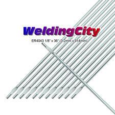 "WeldingCity 2-Lb ER4043 Aluminum 4043 TIG Welding Filler Rod 1/8""x36"" | 2-Lb"