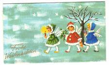 Altes Schokoladenpapier Frohe Weihnachten August Storck Halle / Westf. ! (D8