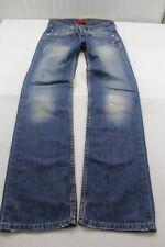 "J1051 Levi´s ""Eve"" Square Cut, Straight Leg 557 0308 Jeans W29 L34 Blau Sehr gut"