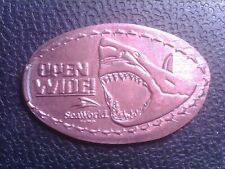 Elongated Penny Open Wide Sep07