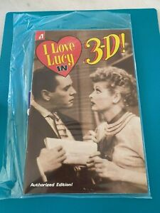 I Love Lucy in 3-D #1 Eternity (in sealed bag) Authorized Edition w/glasses