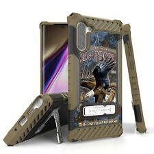 For Galaxy S10,9,8 Note 10 9 Hybrid Tri Shield Armor Hybrid Case USA EAGLE