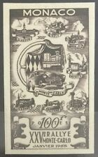 MONACO - N° 420 Non Dentelé + Essai de Couleurs - Timbre Neuf // 1955