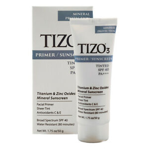 Tizo 3 Tinted Mineral Sunscreen Protection SPF 40 Age Defying Fusion 1.75 oz