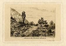 Antique Master Print-LANDSCAPE-Jacque-1844