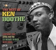 KEN BOOTHE – THE BEST OF KEN BOOTHE 2CDs (NEW/SEALED) Trojan
