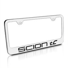Scion tC Polished Stainless Steel License Frame