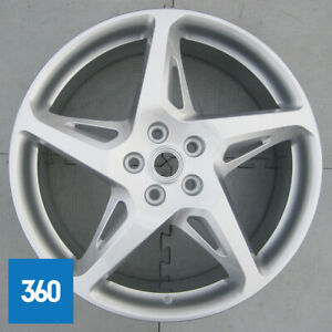 "1 x GENUINE FERRARI 458 20"" STANDARD 5 SPOKE FRONT ALLOY WHEEL 262892 258156"
