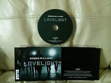 "ROBBIE WILLIAMS ""LOVELIGHT"" 2006 2 TRACK CD SINGLE VERY GOOD CONDITION"